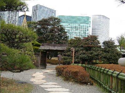 庭園の素敵な門