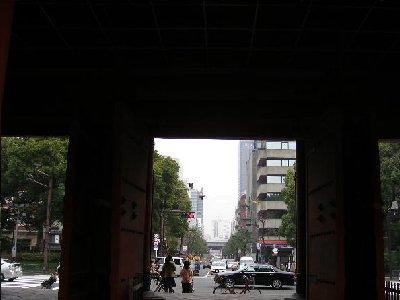 大門から浜松町へ