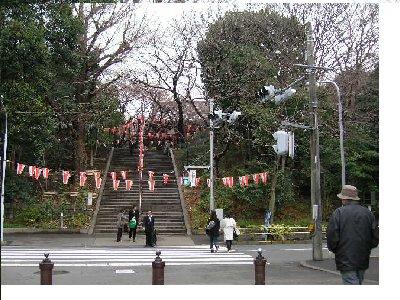上野公園へじいじ
