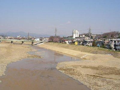 浅川大橋から