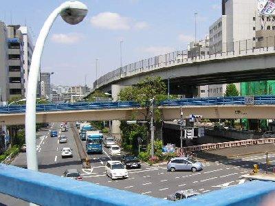 飯田橋歩道橋から