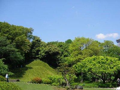 晴れの小石川後楽園