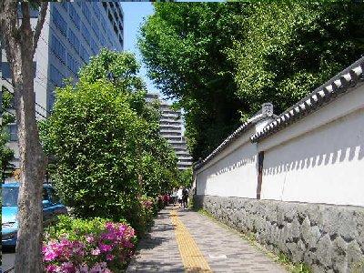 小石川後楽園を出て