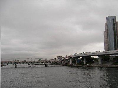 吾妻橋からの隅田川