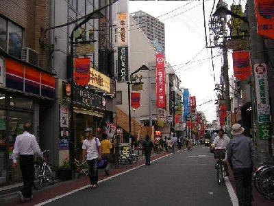石神井公園駅通り