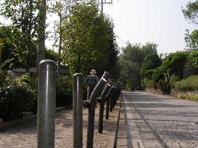 石神井公園へじいじ