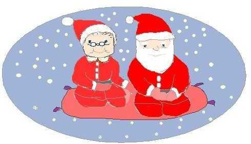 サンタになったじいじ&ばあば